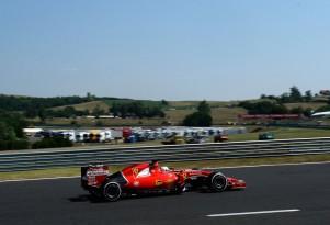Ferrari at the 2015 Formula One Hungarian Grand Prix
