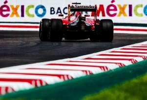 Ferrari at the 2015 Formula One Mexican Grand Prix