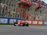 Ferrari at the Formula One Australian Grand Prix