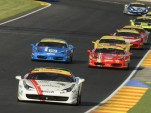 Ferrari Challenge Trofeo Pirelli race in 2012