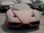 Ferrari Enzo abandoned in Dubai