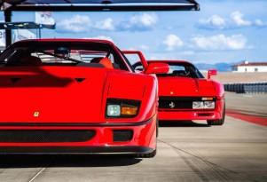 Ferrari F40 and 288 GTO