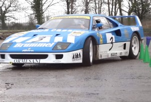 Ferrari F40 in Tax The Rich video