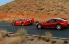 Ferrari 599 GTB Vs. Ferrari F40: Video