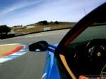 Ferrari F430 at Laguna Seca -- video via VholdR and JoeRacer