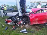 Ferrari F430 crash in Malaysia - Image courtesy of Wrecked Exotics