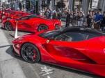 Ferrari F60 America launch, Beverly Hills, California