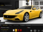 Ferrari FF online configurator