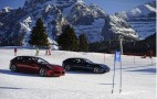 Ferrari FF Goes Slalom In The Italian Dolomites: Video