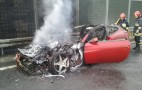Ferrari FF Catches On Fire In Poland