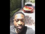 Dwayne Wade lets his son drive Ferrari GTC4 Lusso