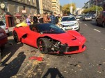 Ferrari LaFerrari crash in Budapest, Hungary - Image via Wörthersee GTI-Treffen