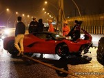 Ferrari LaFerrari crash in China - Image via WreckedExotics