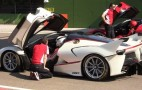 Four Ferrari FXX Ks Take To Imola: Video