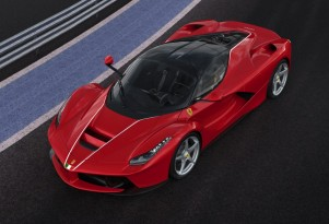 Ferrari LaFerrari number 500 built for 2016 Italian earthquake charity fund