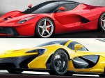 Ferrari LaFerrari versus McLaren P1