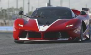 Ferrari FXX K driven by Chris Harris