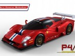 Ferrari P4/5 Competizione final rendering