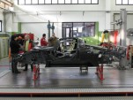 Ferrari P4/5 Competizione under construction