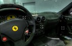Ferrari Scuderia Spider 16M cockpit virtual tour