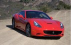 Ferrari California Stuck in Gravel