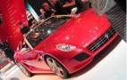 2010 Paris Auto Show: Ferrari SA Aperta Live Photos