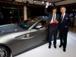 Ferrari charity auction in Japan