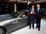 Ferrari charity auction in Japan
