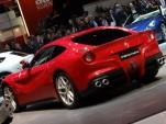 Ferrari F12 Berlinetta live photos