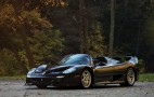 Ultra-rare black Ferrari F50 heads to the auction block