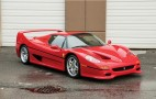 Ferrari F50 once owned by Mike Tyson up for sale