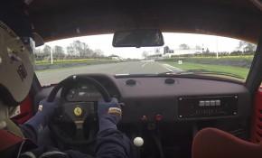 Ferrari F40 LM at Goodwood Members Meeting