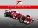 Ferrari's 2013 Formula One car, the F138