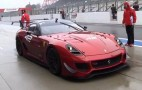Ferrari's 599XX Laps A (Very) Wet Suzuka Circuit: Video