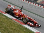 Ferraris Fernando Alonso during testing for the 2013 Formula One season
