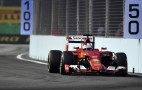 Ferrari's Sebastian Vettel Storms To Singapore Grand Prix Pole