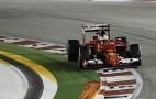 Ferrari's Sebastian Vettel Victorious At 2015 Formula One Singapore Grand Prix