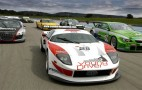 All 49 FIA GT cars take to the track