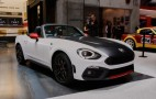 Abarth 124 Spider unveiled in Geneva: Live photos and video