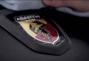 Abarth badge on Fiat 124 Spider