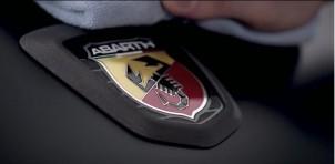 Abarth badge on Fiat 124 Spider