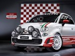 Fiat 500 Abarth rally car