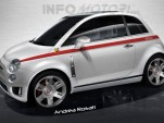 Fiat 500 Abarth renderings