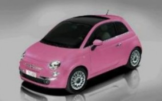 Fiat 500 'So Pink' Is Really Freakin' Pink (And Green)