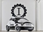 Fiat 500e 'Stormtrooper' custom electric car shown at 2015 Los Angeles Auto Show
