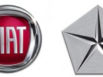 Fiat and Chrysler logos