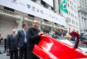 Fiat Chrysler Automobiles starts trading on the New York Stock Exchange