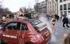 Today In Flash Mobs: Girls, Bikinis, And The Fiat 500