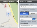 Find My Car Smart app for iPhone 4S