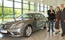 First 2010 Mercedes Benz E-Class Coupe Bremen